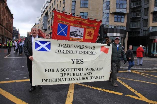 tufi march banner