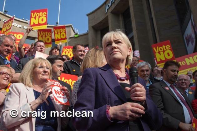 CM-Margaret Curran-Johann Lamont-No-Labour
