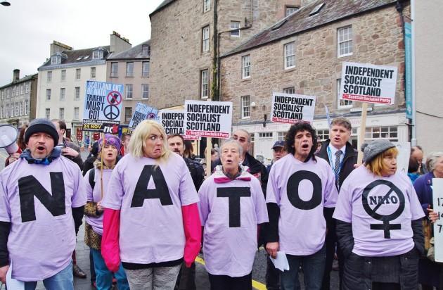 SSP No To Nato demo-John Lanigan