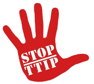 Stop TTIP-red