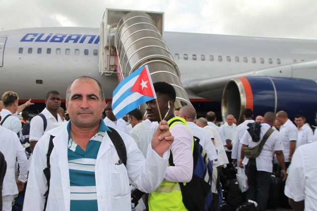 cuban doctors ebola