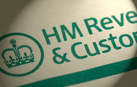 hmrc logo on paper