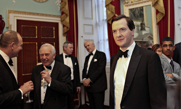 LICENCE TO CUT:  Osborne is intent on making the most vulnerable pay for an economic crisis caused by the banks
