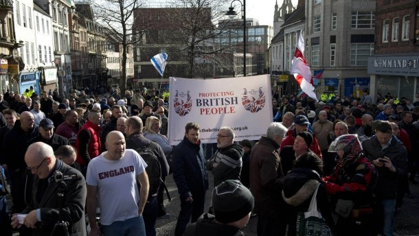 Following their recent demo in Newcastle, where they were totally outnumbered by an anti-fascist counter demo, Pegida UK are planning to demonstrate in Edinburgh on 21 March