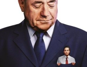 Labour: refuses to admit that a deal with the SNP will ever be necessary, while refusing to rule it out altogether. (Image: Tory Party campaign poster)