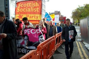ssp banner and Richie on demo