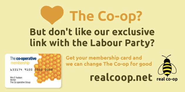 End the Labour link: the Labour Party doesn't have a monopoly on co-operative values
