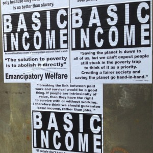 basic income posters