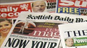 scottish newspaper titles
