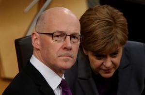 REAL DANGER: Holyrood could become a mini-Westminster, implementing Tory cuts