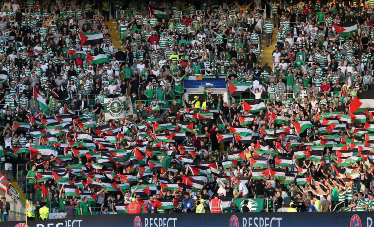 Celtic-Match the Fine forPalestine