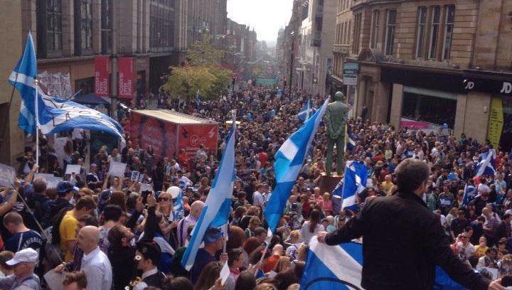 Mass Yes Rally final SaturdayGlasgow