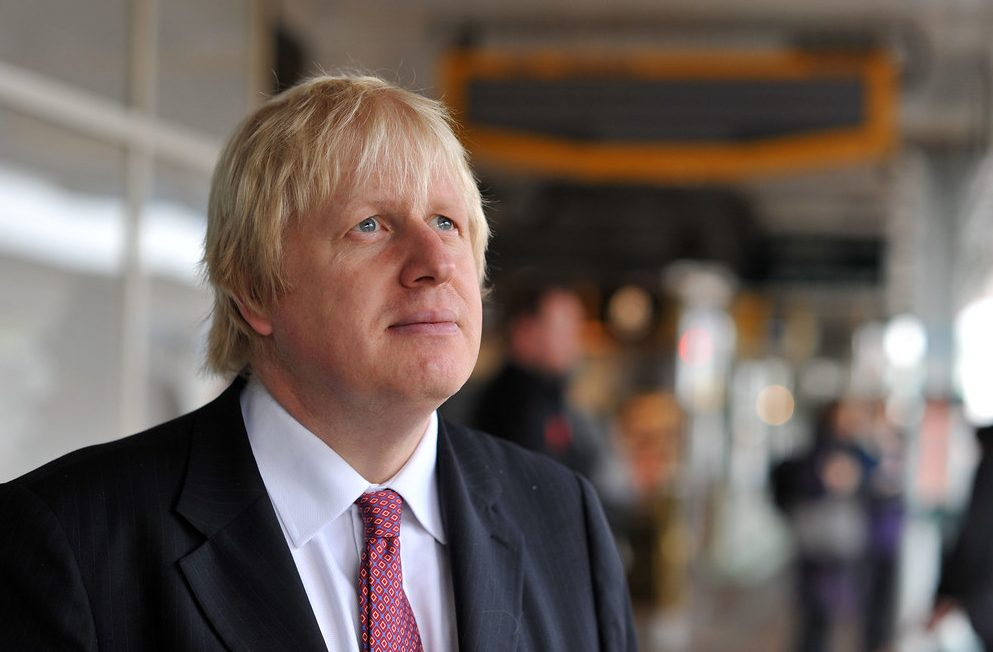 Boris Johnson inTooting