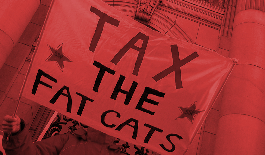 Tax the Fatcats-red