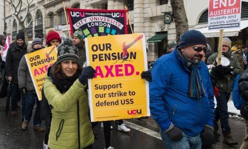 UCU strikers