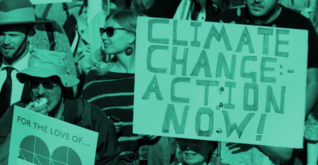 climate change action banner-colorised