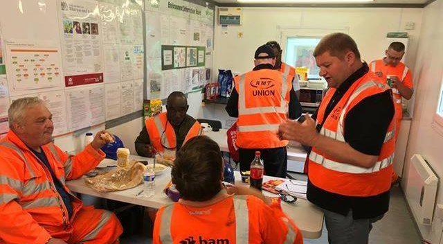 RMT-Gordon Martin recruiting infrastructure workers on the Aberdeen-Inverness improvementproject